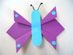 Crafts with children in and for the summer - Kids' Crafts for Diy and Crafts Easy Crafts For Kids, Diy For Kids, Diy And Crafts, Arts And Crafts, Children Crafts, Simple Crafts, Diy Paper, Paper Crafts, Kindergarten Portfolio