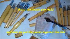 NEW NATURAL WAY TO PUT THE HEALTH PENS INSIDE - 7 DIFFERENT DESIGNS - He...