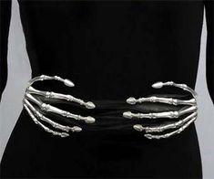 Skeleton Hands Belt