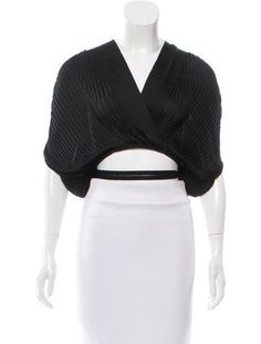 Tome Plissé Pleated Crop Top w/ Tags