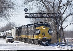 RailPictures.Net Photo: PREX 1752 Keokuk Junction Railway EMD FP9 at Creve Couer, Illinois by Steve Smedley