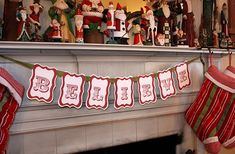 she has tons of free printable banners for various holidays - super cute and easy!