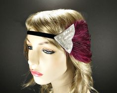 The Great Gatsby Headband Flapper Headpiece 1920s by FlowerCouture
