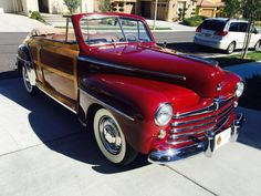 Hemmings Find of the Day – 1947 Ford Super DeLuxe convertible