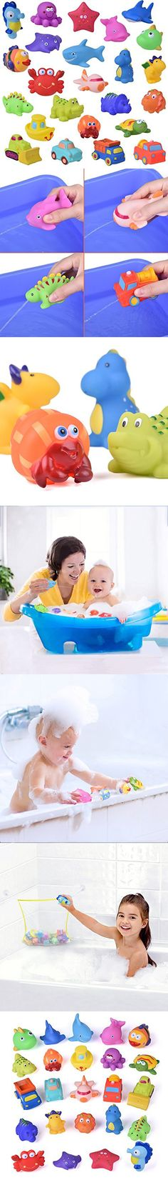 Orderly Baby Bathtub Toys Fishing Game Bath Tub Floating Squirt Water Fish Kids Toddler Suitable For Men And Women Of All Ages In All Seasons Bathing Accessories Bathing & Grooming