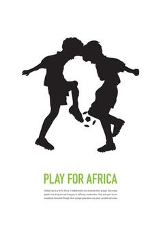 I think this is an example of Gestalt - The form and shape of the boys is used to show a negative space African continent. It's also a great example of positive and negative space. Negative And Positive Space, Negative Space Logos, Silhouette Logo, Logo Luxury, Plakat Design, Branding, Design Graphique, Kids Logo, Creative Advertising