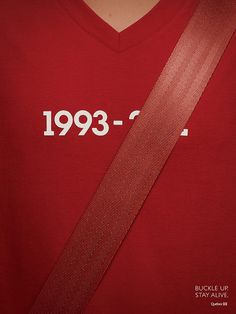 "Buckle Up and Stay Alive I love the meaning behind this. also good advice  ""Advertising"" December 16th"