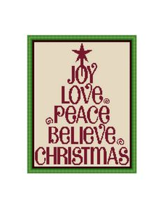 Christmas Cross stitch pattern ,Instant download PDF by CrossStitchVillage on Etsy https://www.etsy.com/listing/255860133/christmas-cross-stitch-pattern-instant