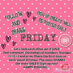 Friday Sharing Share Group Other