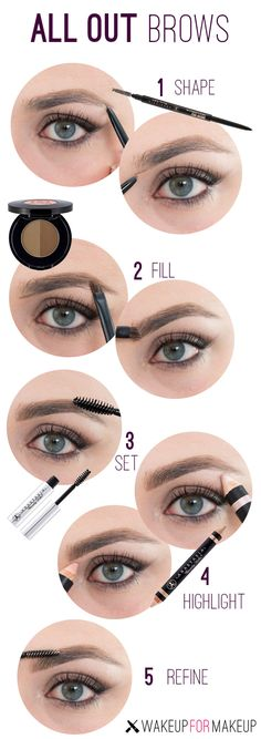 how to make your eyebrows perfect makeup