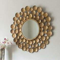 Gold Ball Mirror from Graham