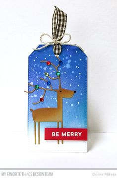 It's that time of year again--Tracey's 25 Days of Christmas Tags ! I couldn't wait to link up my tag which was inspired by Debbie Yates'...