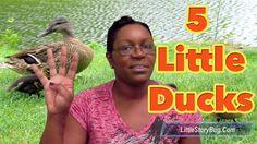 Preschool songs - Five Little Ducks - LittleStoryBug
