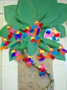 weird animals vbs | Parrots in a tree | Weird Animals VBS 2014 | decorating