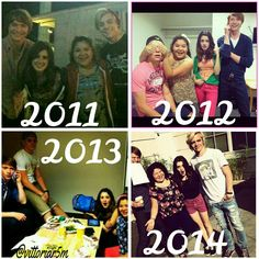 Austin and Ally the first day on set