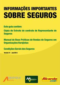 Capa para Guia com Informações Importantes para os vendedores do Grupo Máquina de Vendas (Ricardo Eletro - Insinuante - City Lar - Eletro Shopping - Salfer)