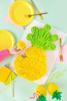 » Pineapple Pull Apart Cupcakes