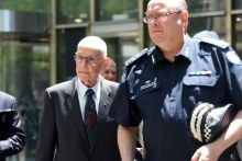 Mick Miller and Graeme Ashton outside the royal commission  Child abuse royal commission: Victoria Police admits 'Catholic mafia' covered up allegations of abuse - ABC News (Australian Broadcasting Corporation)