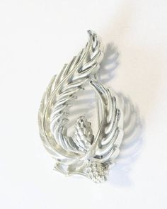 In my #etsy shop: Vintage Brooch #Lisner Silver Tone Holiday Special Occasion Gift Idea Last Minute Shopping http://etsy.me/2Dpt77v #jewelry #brooch #christmas #silvertone #pinebranchwithpinecones #vintagebrooch