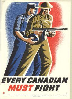 Vintage German Latvia WW2 Canvas or Poster Print DEFEND AGAINST BOLSHEVISMUS!