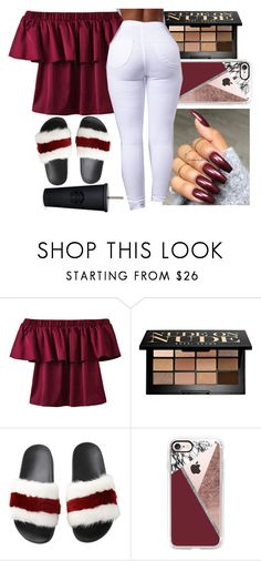 """Supah Badd freestyle"" by renipooh ❤ liked on Polyvore featuring WithChic, Bobbi Brown Cosmetics, Givenchy and Casetify"