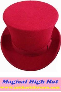69162cc0c98 TIMESWOOD Chapeau Fedora Men s High Top Hat S M L XL