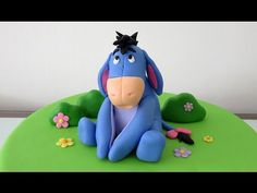 Vancouver Cake Designer, Lisa Lyttle (http://www.vancouvercakes.com) shows you how to sculpt Eeyore from Winnie the Pooh out of Gumpaste. Web: http://www.van...