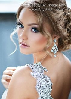 Amazing bridal makeup by Beauty By Crystal Anne in Houston, Texas