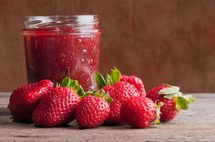 Homemade Strawberry Jam recipe: Try this Homemade Strawberry Jam recipe, or contribute your own. Homemade Strawberry Jam, Strawberry Jam Recipe, Homemade Jelly, Jam Recipes, Canning Recipes, Canning Tips, Fruit Creations, Canning Vegetables, Freezer Jam