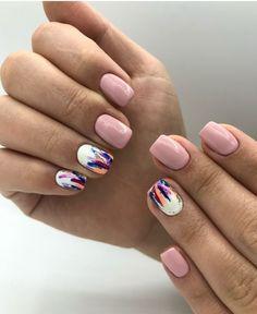 170 hottest matte short nail art designs ideas page 15 Nail Art Designs, Short Nail Designs, Nail Polish Designs, Stylish Nails, Trendy Nails, Cute Nails, Wedding Nail Polish, Short Nails Art, Pin On