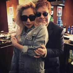 Elton John & Lady Gaga 2017
