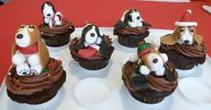 Basset hound cupcakes by ~Marce07 on deviantART