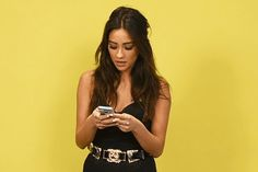 """When you get a threatening text from """"A"""". 