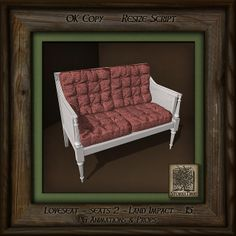 storaxtree London Photos, Love Seat, Couch, Rustic, Red, Pink, Furniture, Home Decor, Homemade Home Decor
