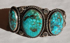 Saks Galleries Blog: Native American Morenci Turquoise Jewelry at ...
