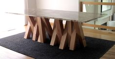 x table contemporary dining tables minneapolis lucero Inside granite table base