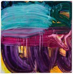 "Fran O'Neill crossing 72"" x 72"", oil on canvas, 2014"
