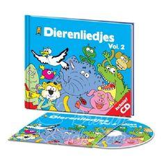 Boekje + cd dierenliedjes deel 2 liedjesboekjes als verjaardagkado of kraamkado