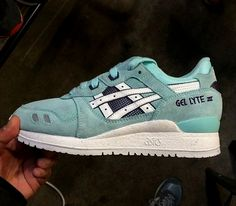 Asics Gel Lyte III – Mint (Fall/Winter 2014) – Preview