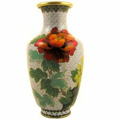 tan vase with red bird 1