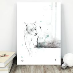 """Poster """"Gråbein"""" - tails.no My Drawings, Shower, Illustration, Prints, Poster, Cards, Pictures, Rain Shower Heads, Illustrations"""