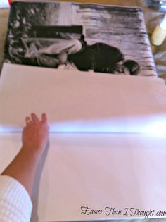 Easier Than I Thought: DIY Gallery Style Picture Canvas