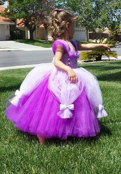 Princess Sofia the First tutu dress by BooboosBowsandTutus on Etsy, $60.00