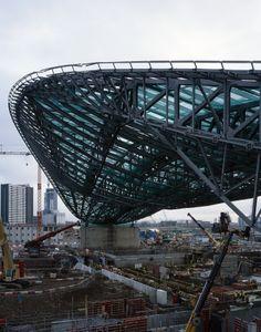 Centro Aquático, Jogos olímpicos de Londres, 2011/2012_Zaha Hadid Architects