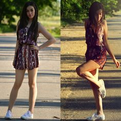 3. Fashion Blogger Aliu Fabiola in Paisley from Italy | Fashion Bloggers' New BFF This Summer—Boho Paisley Romper