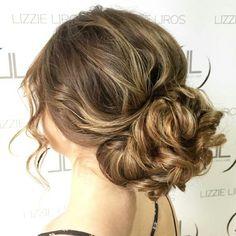 Bridal Hair by Lizzie Liros