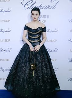 Fabulously Spotted: Fan Bingbing  Wearing Georges Chakra Couture – Chopard 'Passion For Excellence' Private Dinner - http://www.becauseiamfabulous.com/2016/01/03/fan-bingbing-wearing-georges-chakra-couture-chopard-passion-for-excellence-private-dinner/