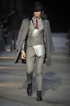 Alexander McQueen Men's F/W 2009