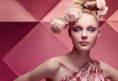 Fashion Editorial pastel sweet rose spring designer photography magazine soft Dior