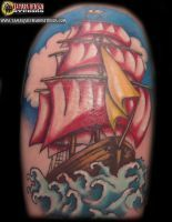 Tattoo 5: Ship, Finished by briescha
